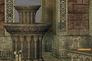 逃离古代神庙
