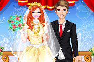 冬季婚礼化妆