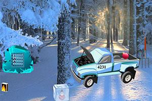 圣诞节逃出雪山