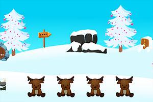 圣诞老人拯救雪屋