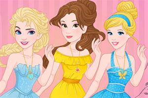 迪士尼公主去相亲