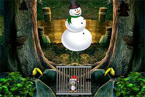 救援圣诞企鹅