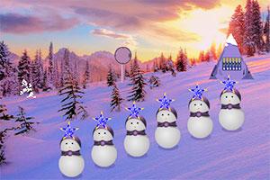 圣诞日逃出雪山