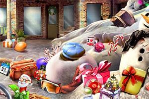 圣诞节装饰房屋