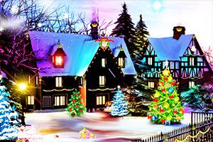 逃离圣诞气氛