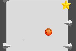 采集星星的篮球