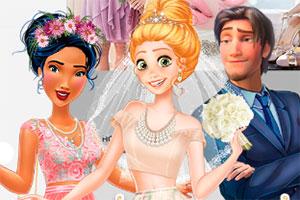 迪士尼的唯美婚礼