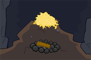 逃离寒冷的洞穴