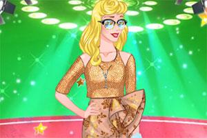 公主的时装T台秀