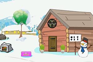 冬季别墅逃生