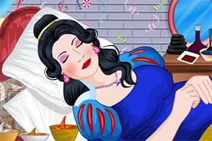 沉睡公主化妆