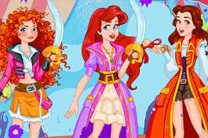 海盗公主万圣节装