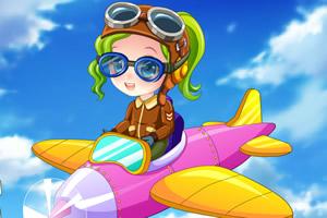 小可爱当飞行员