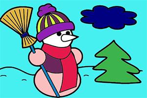 冬季图画册