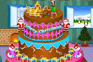 圣诞美味蛋糕制作