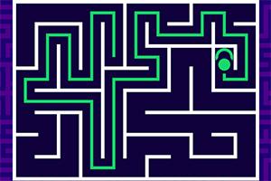 绿球过迷宫