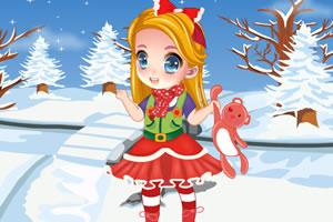 甜美宝贝欢乐圣诞