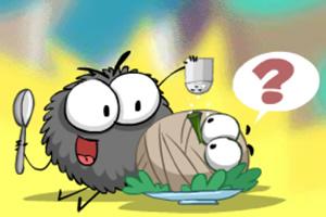 小蜘蛛爱吃蚊子