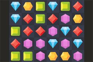 闪亮的五彩宝石