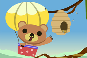 小熊采蜂蜜选关版