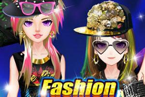 时尚EMO女孩换装