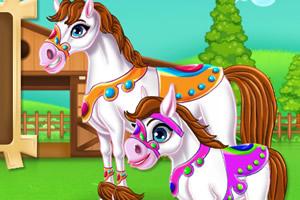 马妈妈和小马驹