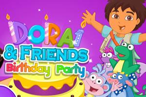 小朵拉的生日派对