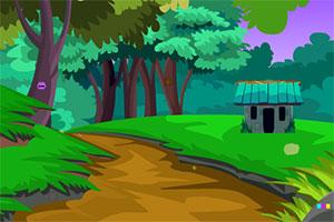 大象逃出部落村庄