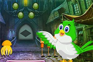 救援绿色小鸟