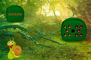 逃离飞跃森林