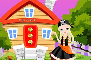 救援海盗女孩