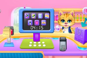 彩虹小猫饼干