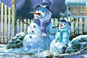 美妙圣诞夜找字母