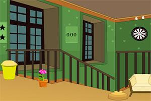 逃出深绿色房间