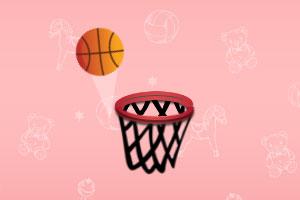 篮筐接球挑战