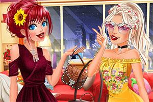 时尚的女孩们