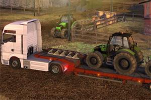 大型拖车找轮胎