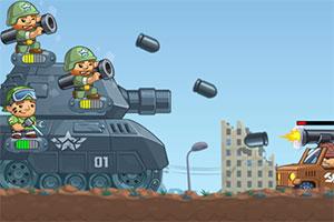 前行的坦克