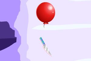 飞刀爆气球
