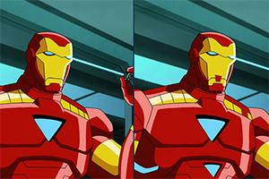 钢铁侠找差异