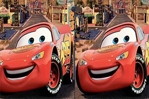 迪士尼汽车找不同