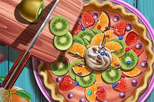 制作实心水果馅饼