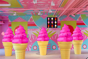 逃离冰淇淋屋