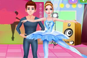 芭蕾舞者美容院