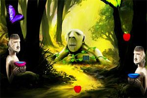 漆黑的森林逃脱
