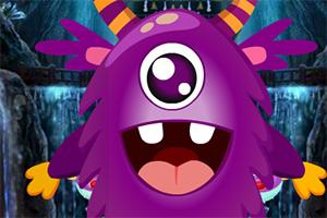 救援紫色生物