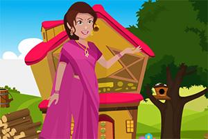 救援印度女子