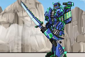 组装机械机甲暴龙2