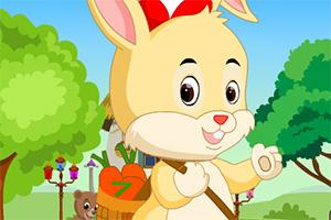 救援受困的萌兔