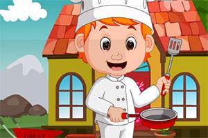 救援男厨师